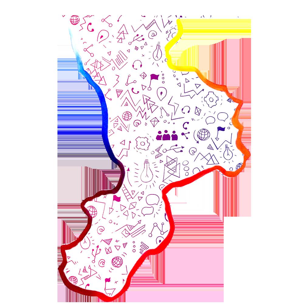 sfondo mappa calabria